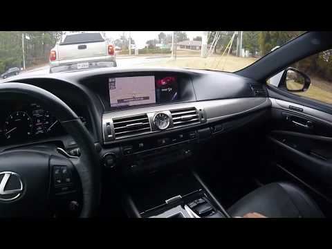 Lexus Ls 460 Седан класса F - тест-драйв 2