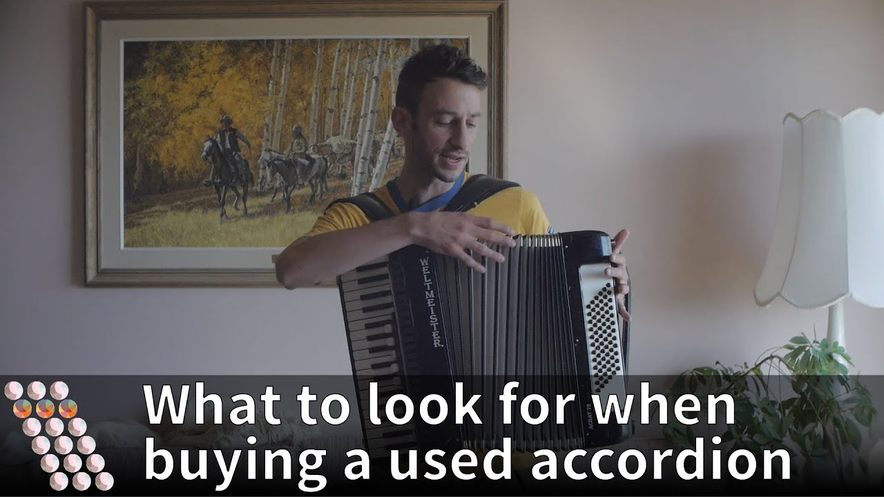 What to look for when buying a used accordion - YouTube