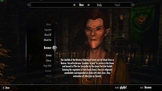 All of Gianna's Reactions To The Gourmet's Races (Skyrim)