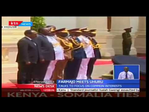 KTN Newsdesk - 23rd March 2017 - Somalian President Farmajo visits Kenya