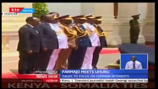 KTN Newsdesk - 23rd March 2017 - Somalian President Farmajo visits Kenya
