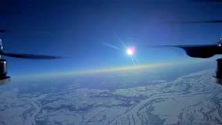 HD Квадрокоптер взлетел на высоту 8.4км / High altitude drone flight FPV