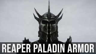 Skyrim Mod: Reaper Paladin Armor   Skyrim Armor Mods (PC & XBOX)