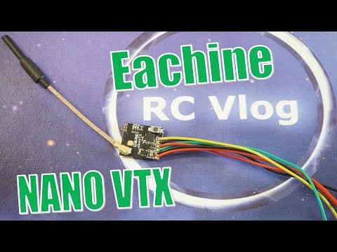 Eachine NANO VTX. Power metering.