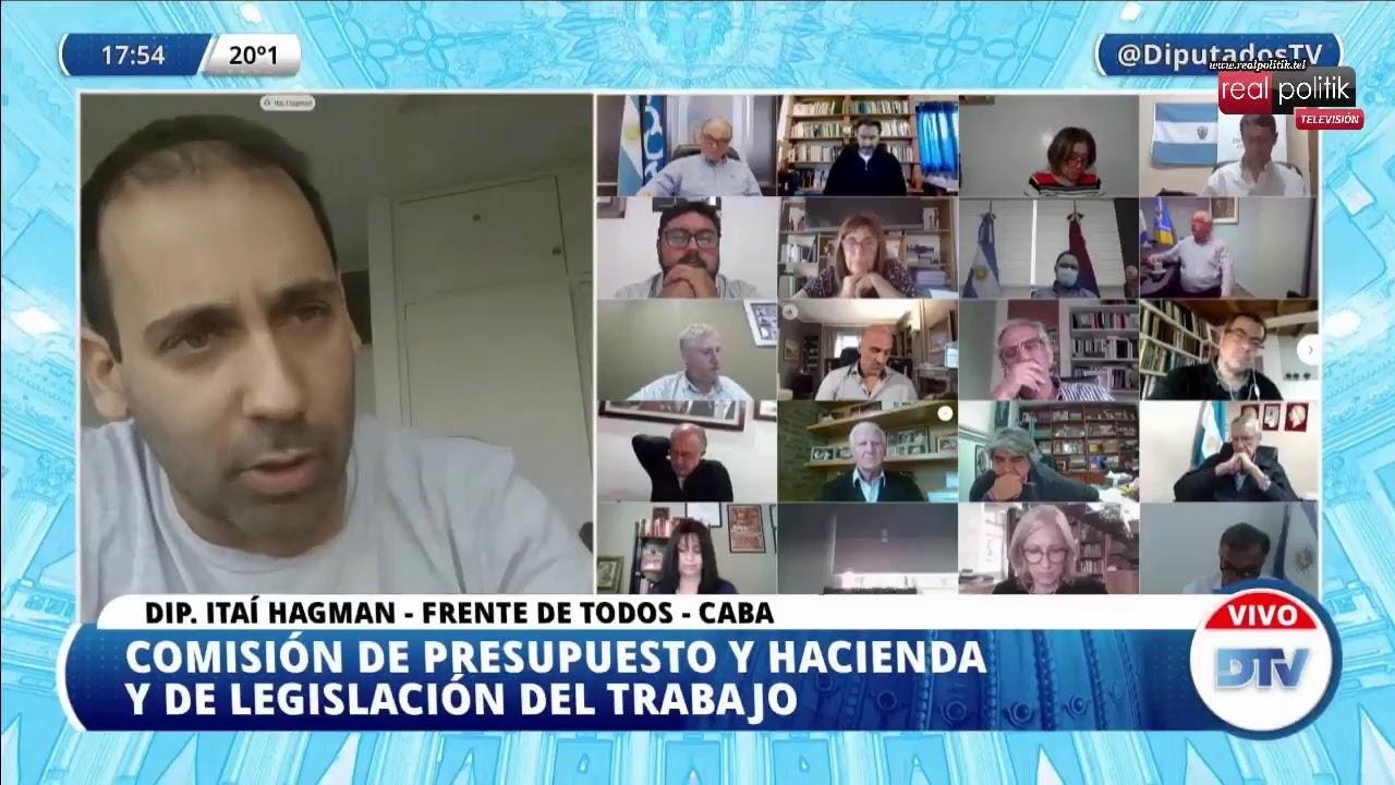Teletrabajo en Diputados: Tratamiento del proyecto de reforma al Impuesto a las Ganancias