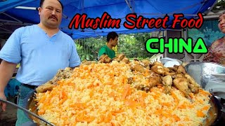 preview picture of video 'Muslim Food In China | Guangzhou Mosque Food Market  | Abu Wakas Mosque |'