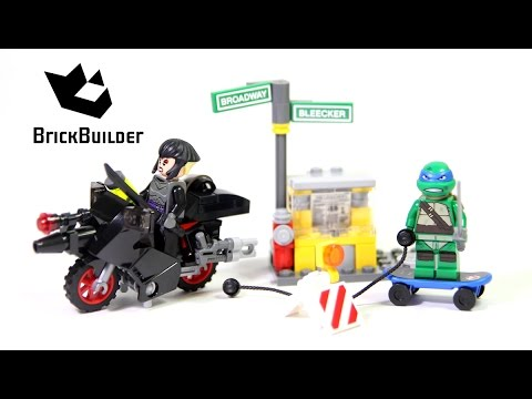 Vidéo LEGO Tortues Ninja 79118 : L'évasion en moto de Karai