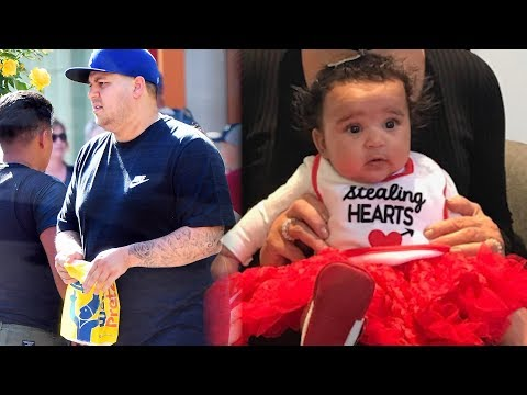 Rob Kardashian Out Buying COMFORT FOOD After Reaching Custody Agreement With Blac Chyna!