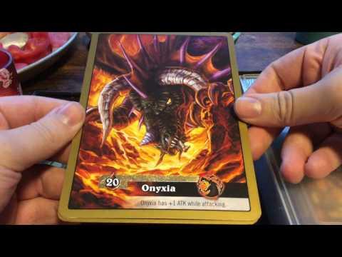 World of Warcraft TCG: Onyxia Raid Deck!!!
