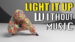 LIGHT IT UP - Major Lazer (House of Halo #WITHOUTMUSIC parody)