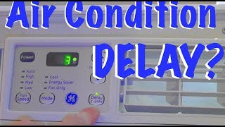 AIr Conditioner Start/Stop Delay - How does it work?