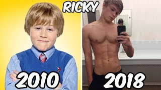 Nickelodeon Famous Boys Stars Before and After 2018