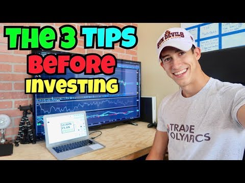3 Tips To Know BEFORE Investing In Stocks | For Beginners