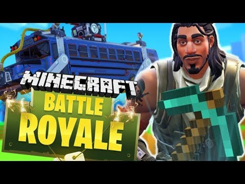 SECRET FORTNITE BATTLE ROYALE IN MINECRAFT