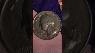 Washington No Claws Eagle Rare Errors 1974  Quarter