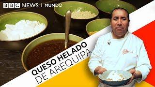 Cómo se prepara el queso helado de Arequipa
