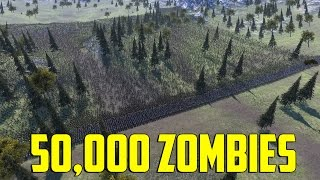 50,000 Zombies vs 5,000 Romans
