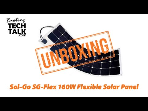 Sol-Go 160W Flexible Solar Panel - Unboxing and Product Review