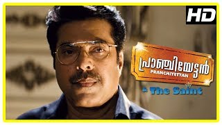 Pranchiyettan & the Saint Climax Scene | Mammootty forsees his future | End Credits