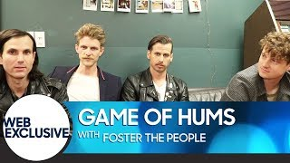 Foster the People Get Stumped in Game of Hums