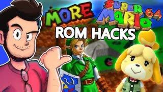 MORE Super Mario 64 ROM Hacks - AntDude
