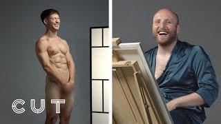 Best Friends Paint Nude Portraits of Each Other | Cut