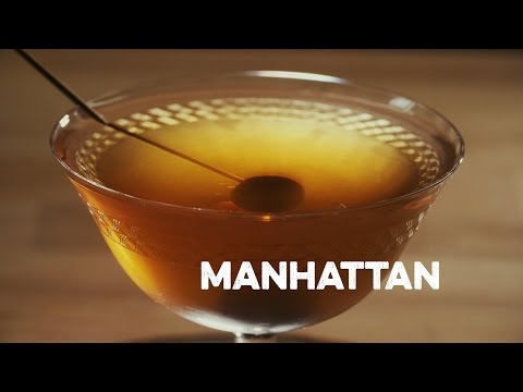 How to Drink: Manhattan