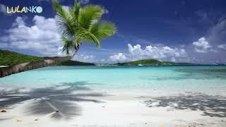 Hudba spanek zvuk morskych vln sumeni more relaxacni bily sum