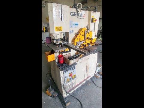 Ironworker Machine GEKA HYDRACROP HYD 55 S 2017