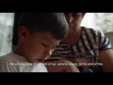 Каждому медработнику, задействованному в борьбе с COVID-19, мы желаем стойкости и здоровья