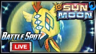 Araquanid  - (Pokémon) - ARAQUANID THE BULKY SAVIOR! | Pokemon Sun and Moon Battle Spot LIVE!