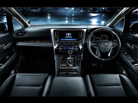 2016 Toyota Vellfire Interior