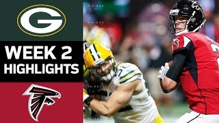 Packers vs. Falcons | NFL Week 2 Game Highlights