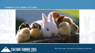 Zen and the Art of Building Great Teams with Ellen Leanse - Culture Summit 2015