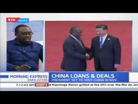 China Loans: Is Kenya over borrowing from China?