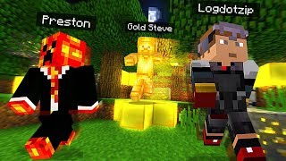 MINECRAFT WE FOUND GOLD STEVE in POCKET EDITION *SCARY SECRET*
