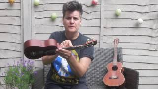Easy Ukulele For Kids With Al Start #2 And A Half! SMOKE ON THE WATER!