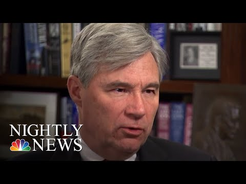 Sen. Sheldon Whitehouse Has Made More Than 200 Speeches About Climate Change | NBC Nightly News