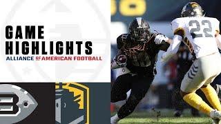 Birmingham Iron Vs. San Diego Fleet | AAF Week 6 Game Highlights