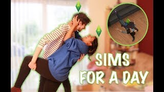 Boyfriend & Girlfriend: We Lived Like Sims For 24 Hours