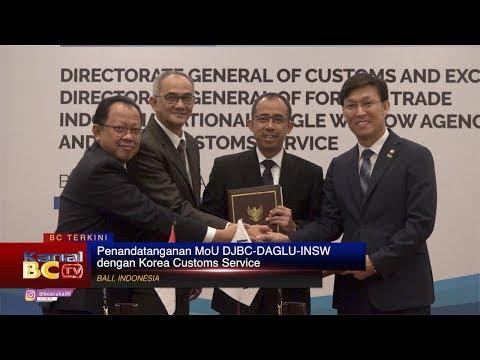 Penandatanganan MoU DJBC-DAGLU-INSW dengan Korea Customs Service