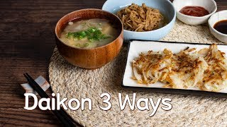mqdefault - Making 3-Course Meal with Daikon Radish