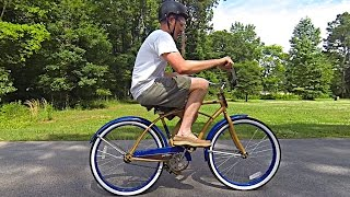 "Learning to ride your new Agile bike is easier than ""unlearning"" to ride your old one"