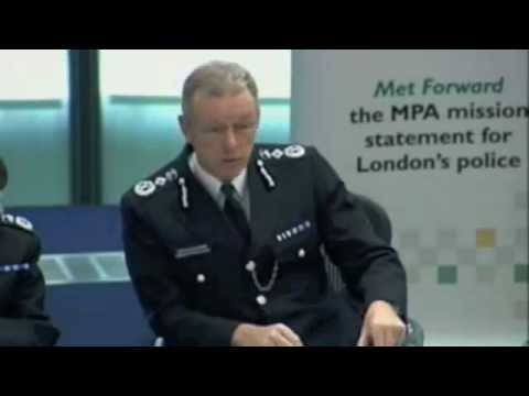 LONDON'S POLICE COMMISSIONER CLASHES WITH ASSEMBLY MEMBERS OVER 'STRAIGHT ANSWERS'