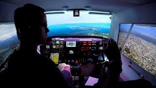 Monterey To Napa Valley (Cessna Home Cockpit Prepare3d Orbx)