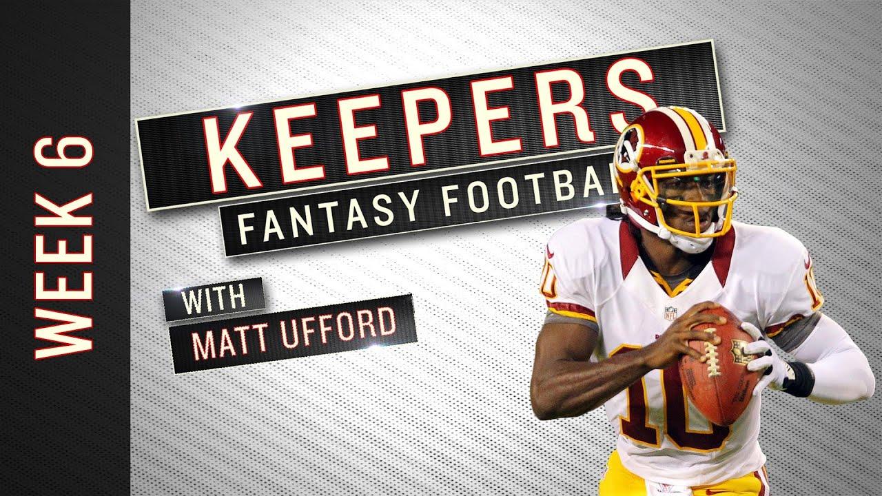 Keepers: Week 6 Fantasy Football Advice thumbnail