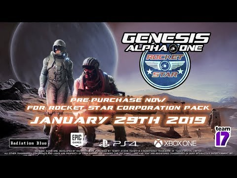 Genesis Alpha One - Release Date Trailer (PC, Xbox One, PlayStation 4) thumbnail