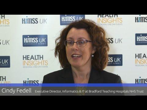 Cindy Fedell - Executive Director, Informatics & IT at Bradford Teaching Hospitals NHS Trust