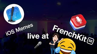 How it really feels to be an iOS developer 🤡 (iOS Memes live at FrenchKit)