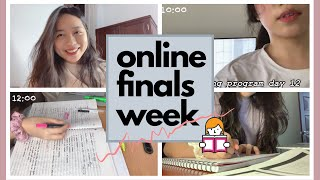 DU HỌC SINH MỸ 🇺🇸 | Online Finals Week 📚+ Study With Me| BY BLING